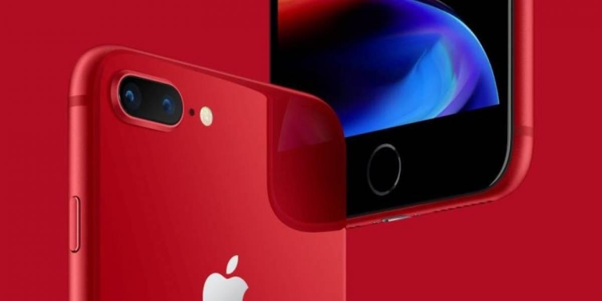 Claro anuncia la llegada del iPhone 8 y 8 Plus en rojo