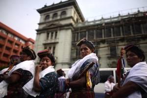 manifestación contra la corrupción del 12 de abril