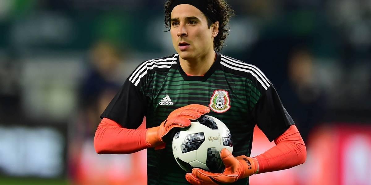 Guillermo Ochoa titular en el nuevo triunfo del Standard