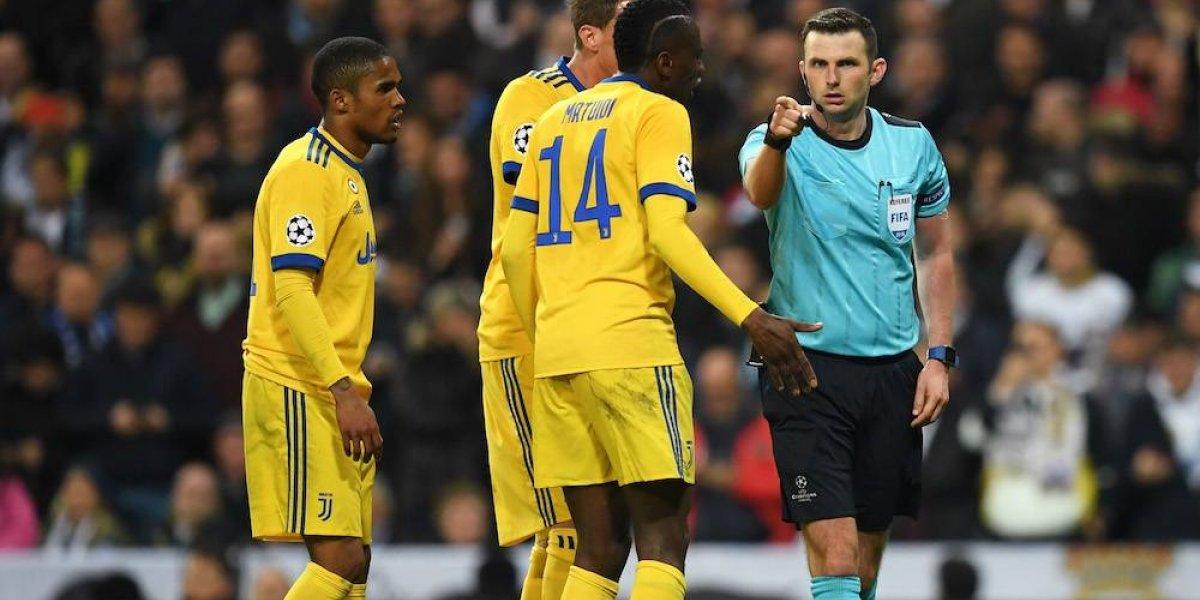 Aficionados de la Juventus descubrieron que la mujer del árbitro Oliver ama Madrid