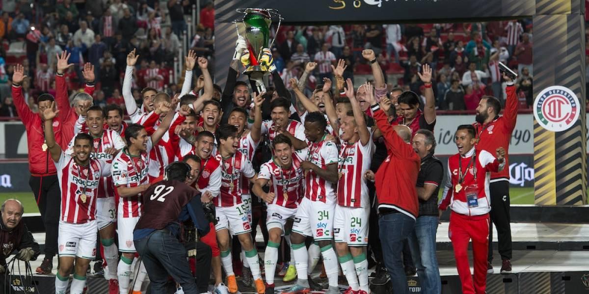 Toluca 'le regala' la Copa MX a Necaxa