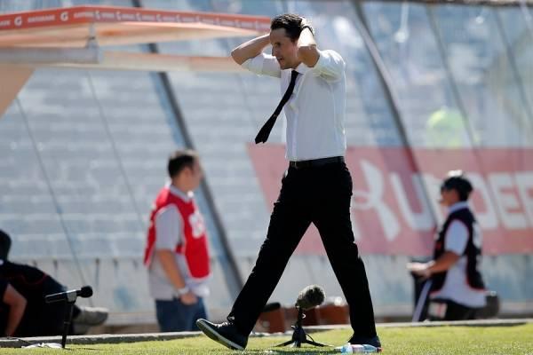 Beñat San José dice estar tranquilo, aunque asume que se debe mejorar en la UC / Foto: Photosport