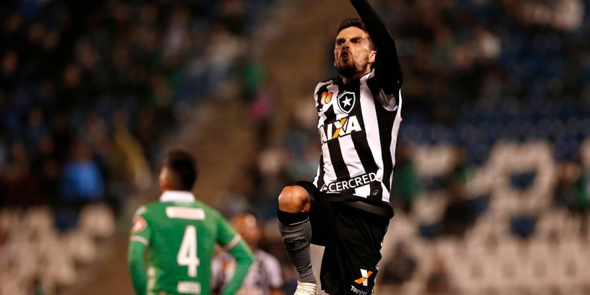 Audax Italiano ahondó su crisis con una agónica derrota frente a Botafogo en la Copa Sudamericana