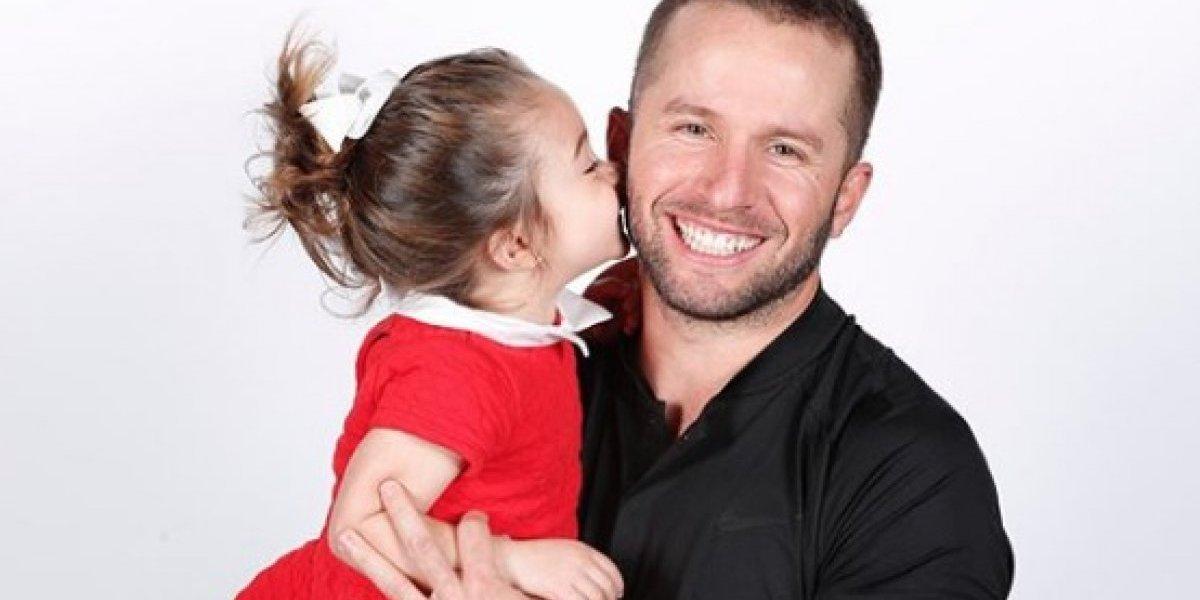 Barea enternece con fotos junto a su hija Paulina