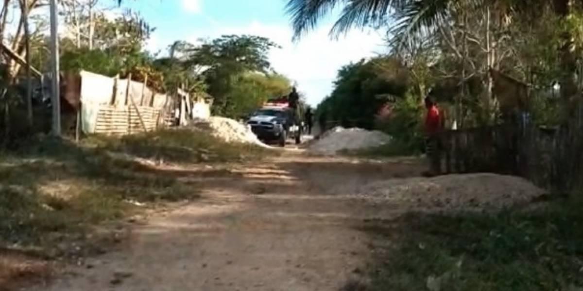 Tarde violenta en Cancún deja a un hombre y una mujer ejecutados