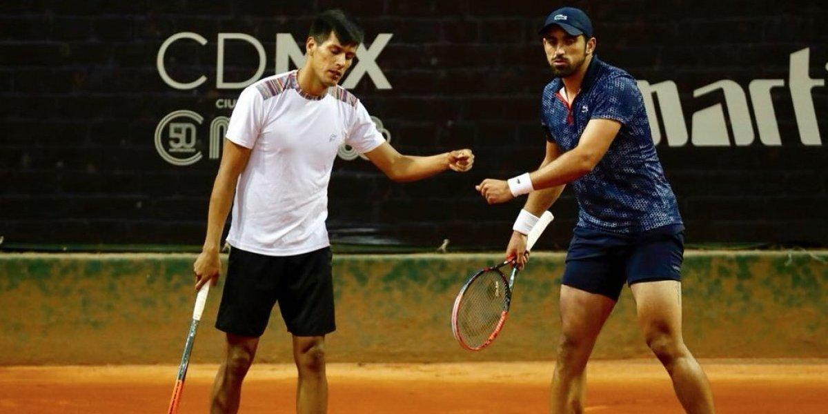 Dupla conformada por mexicano Ramírez y boliviano Zeballos, eliminada del CDMX Open