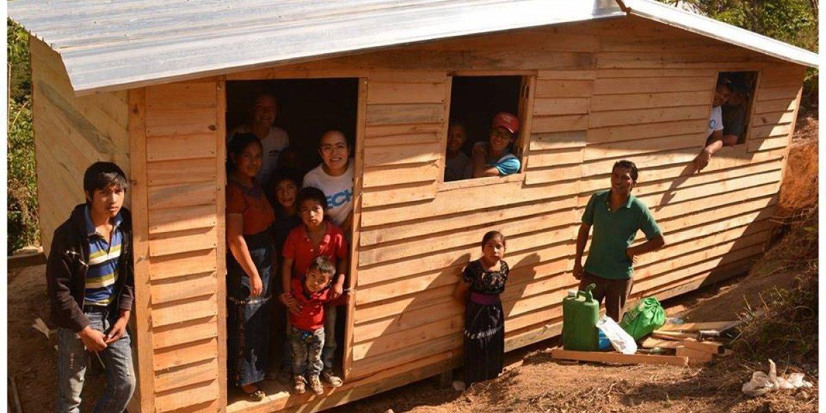 Con la meta de este año, Techo planea construir más de 50 casas en Guatemala