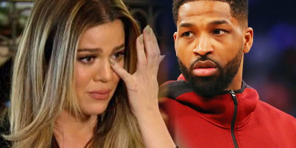 """Sigue el drama de Khloé Kardashian: Sus hermanas """"brillan por su ausencia"""", podría adelantarse su parto y Thompson fue abucheando en un partido"""