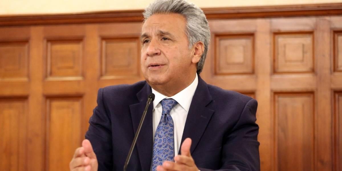 Lenín Moreno propondrá agenda común contra la corrupción