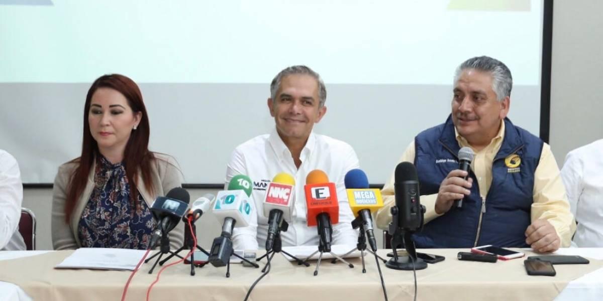 Mancera llama a candidatos a fijar postura sobre un gobierno de coalición