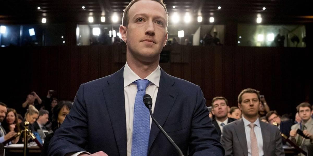 Mark Zuckerberg ganó 3.000 MDD mientras estuvo sentado frente al Congreso