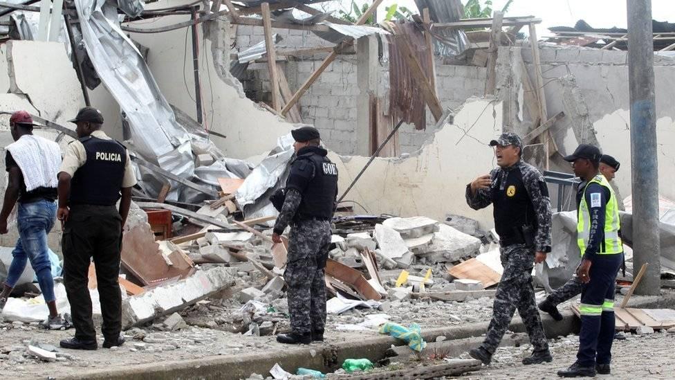 En imágenes la desolación de los allegados a los periodistas ecuatorianos asesinados