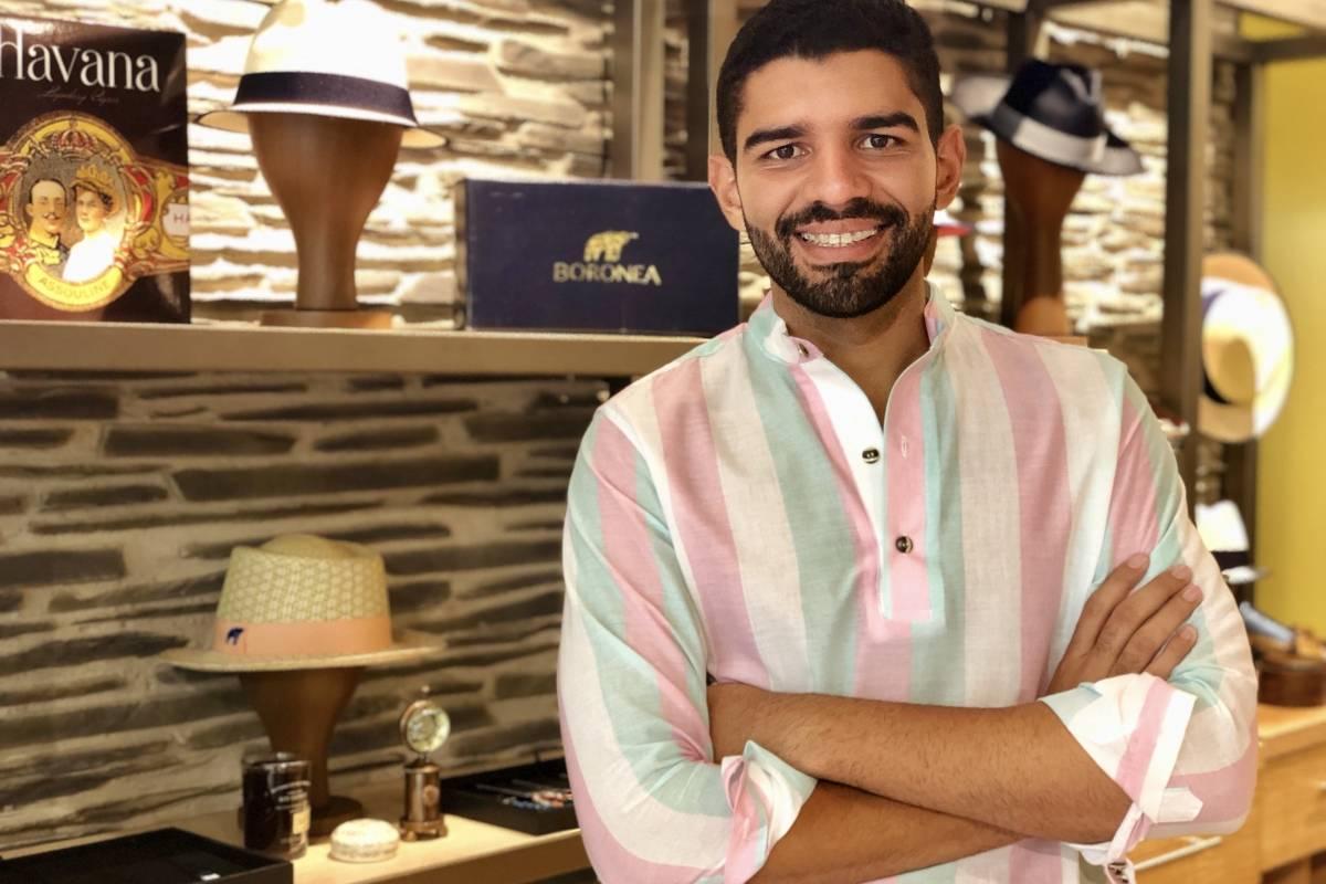 Eliades Moreno, creador y propietario de Boronea. / Foto: David Cordero Mercado