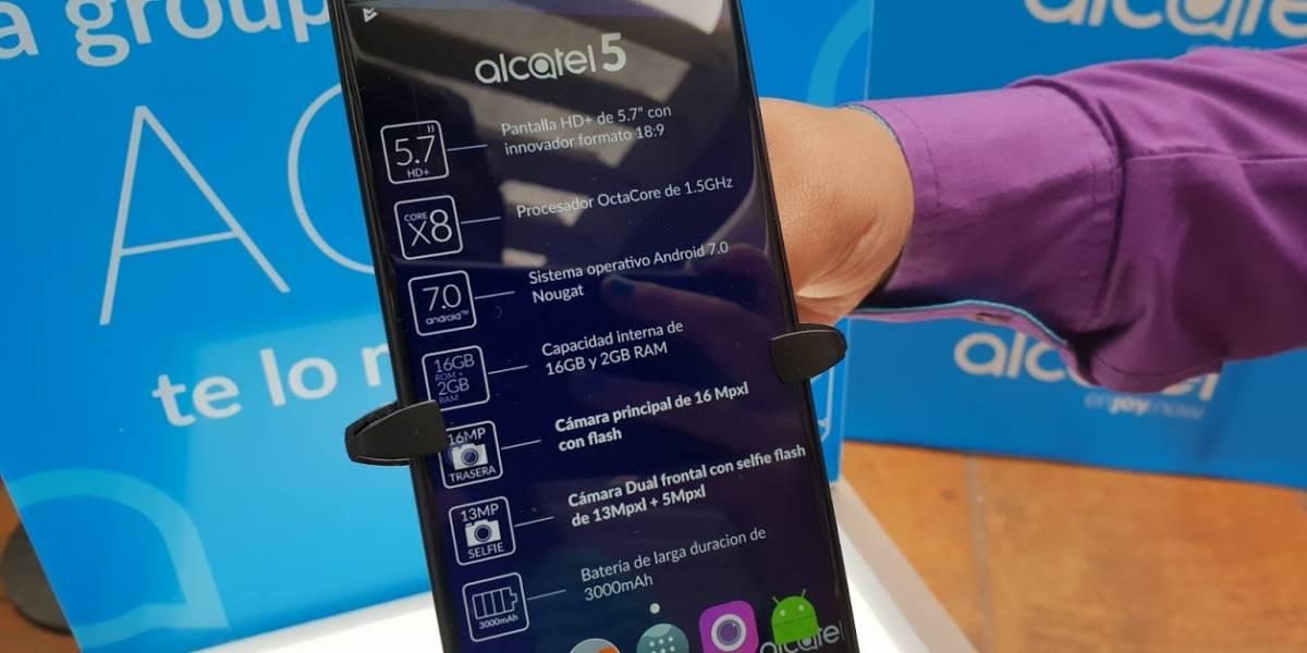 Alcatel lanza sus nuevos equipos equipos 5, 3 y 1 en Colombia: este es su precio y disponibilidad