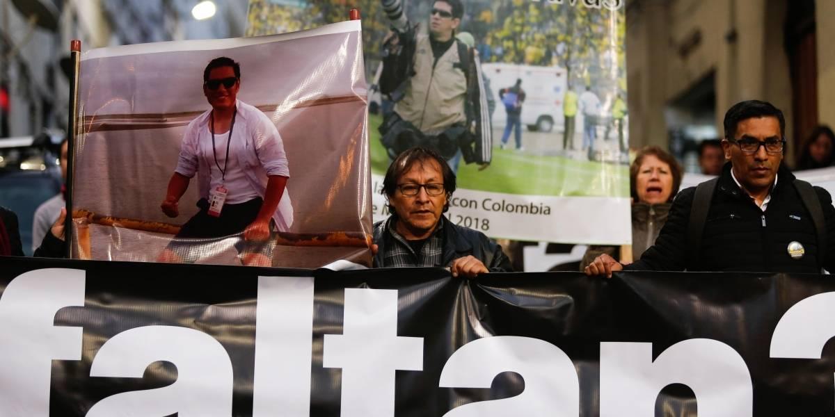 """Gobierno tiene """"disposición"""" de recuperar cuerpos de periodistas"""