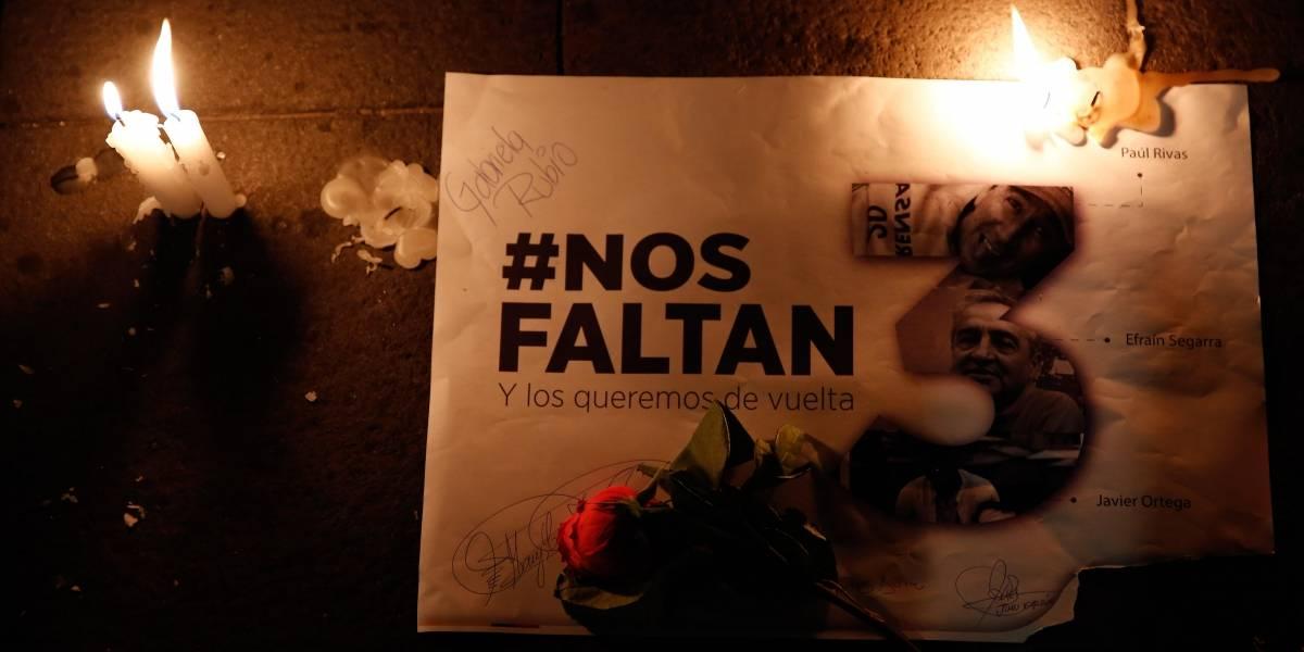 #NosFaltan3: Gobierno decreta 4 días de duelo nacional