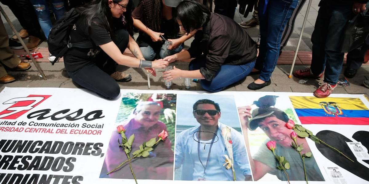 Confirma Ecuador muerte de equipo periodístico secuestrado