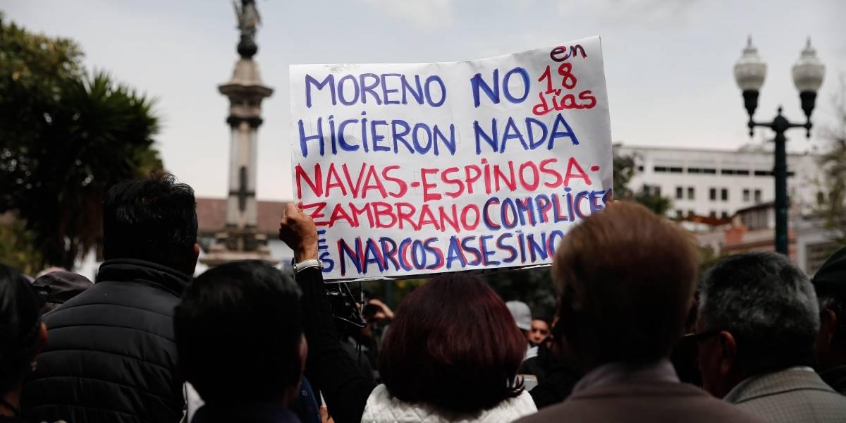 "ELN atribuye a ""narcoparamilitares"" el asesinato de periodistas ecuatorianos"