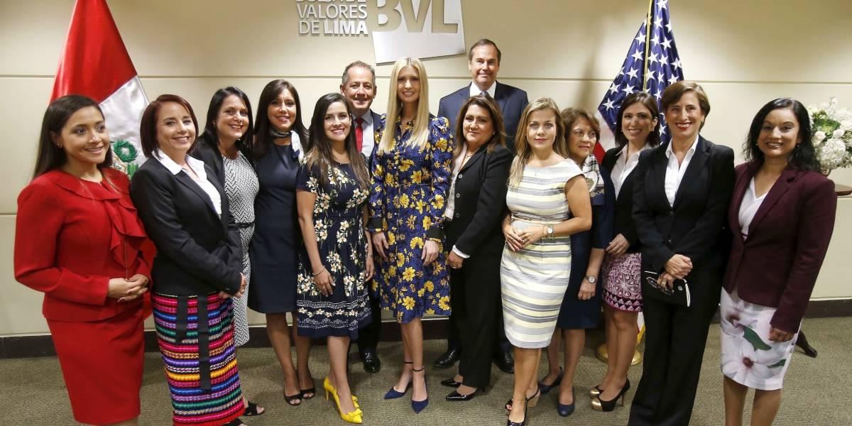 Ivanka Trump apoya el empoderamiento femenino desde Perú