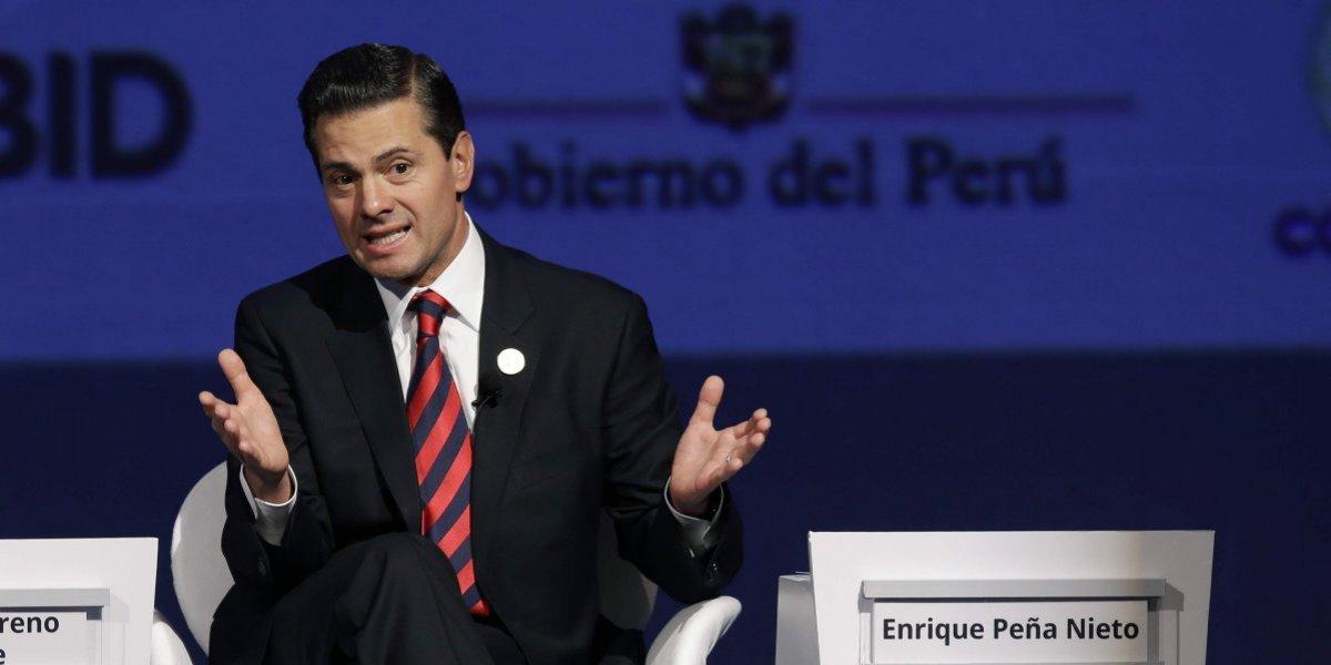 Peña Nieto abre la puerta para que Trump se sume al TPP11