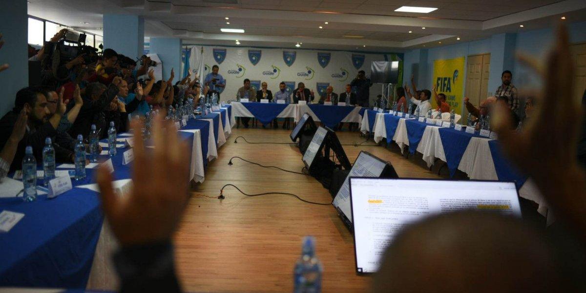 Asamblea avala los nuevos estatutos que exige FIFA para levantar la suspensión