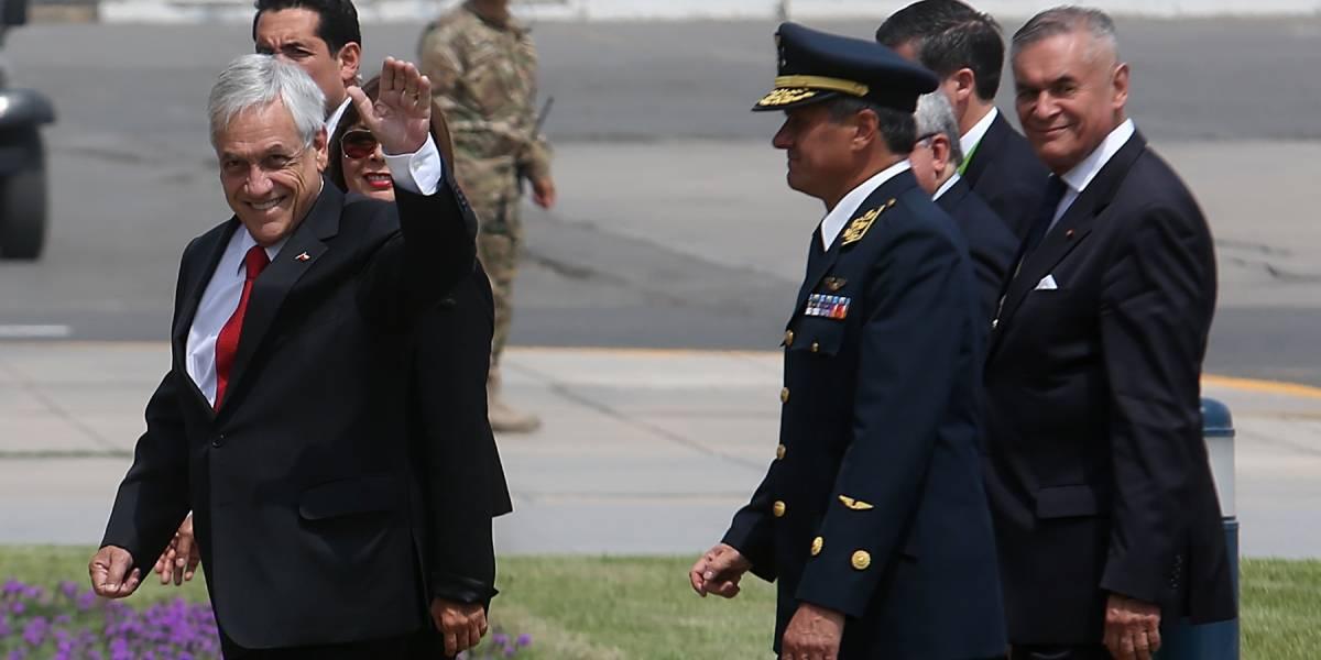 Cumbre de las Américas: Presidente  Piñera llega mandando duro mensaje a Maduro