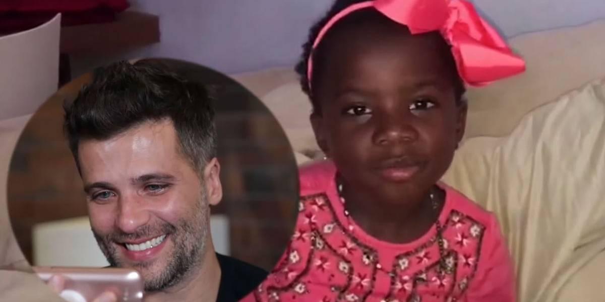 Bruno Gagliasso cai no choro ao receber homenagem de aniversário de Titi