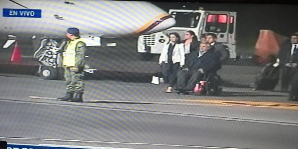 Presidente Moreno llega a Quito y se espera pronunciamiento por secuestrados