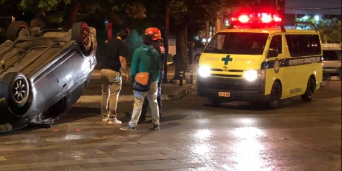 Accidentes de tránsito son recurrentes en Avenida Reforma