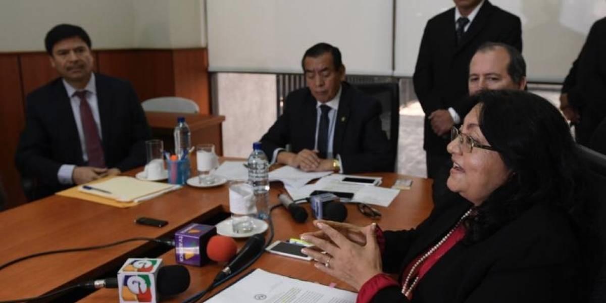 Magistrados aclaran información sobre capturas tras denuncia de la FECI