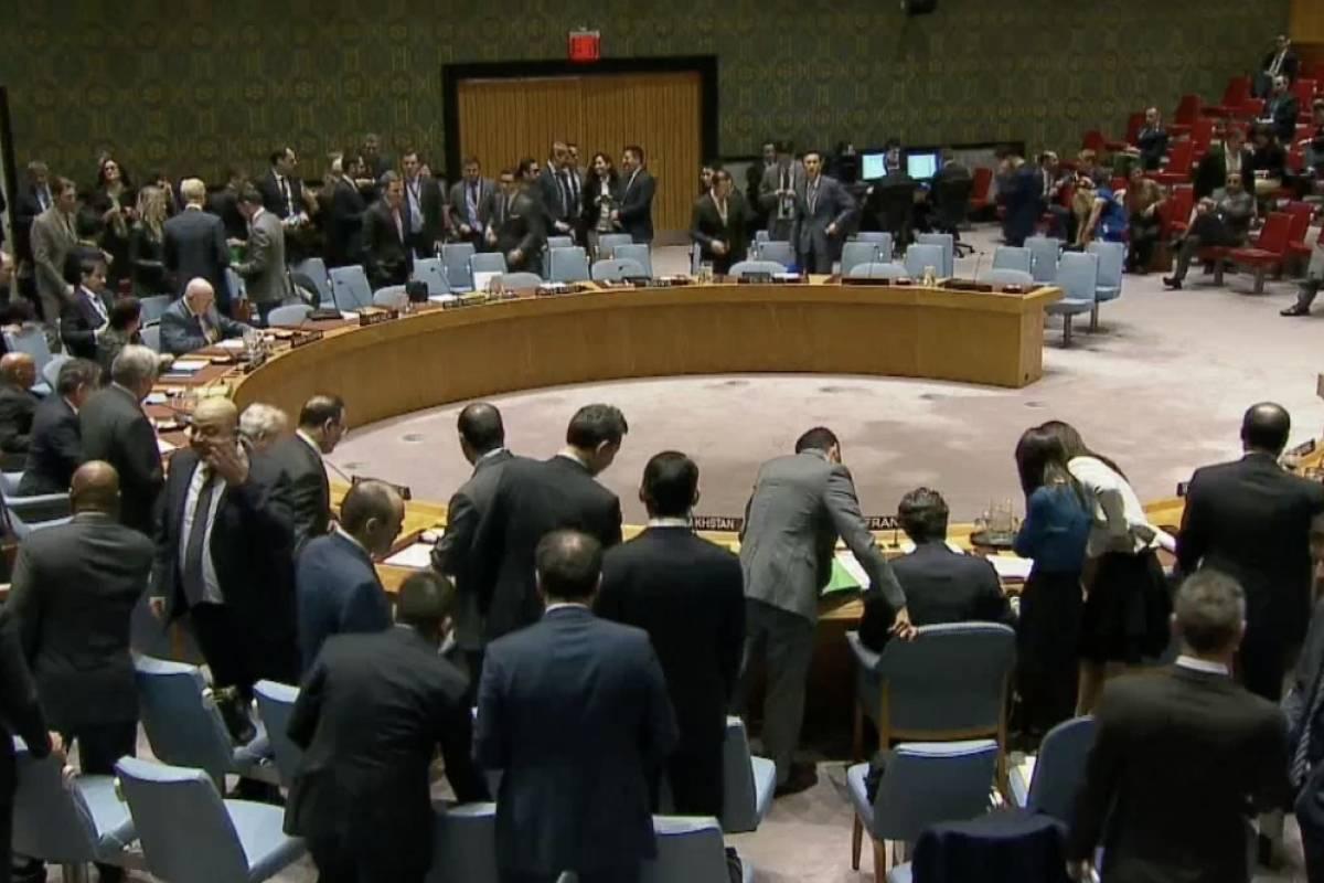 Rusia pide al Consejo de Seguridad que condene