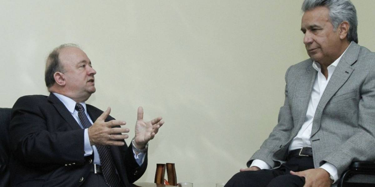 """Presidente Lenín Moreno asegura que """"pondré mano dura contra los delincuentes"""""""