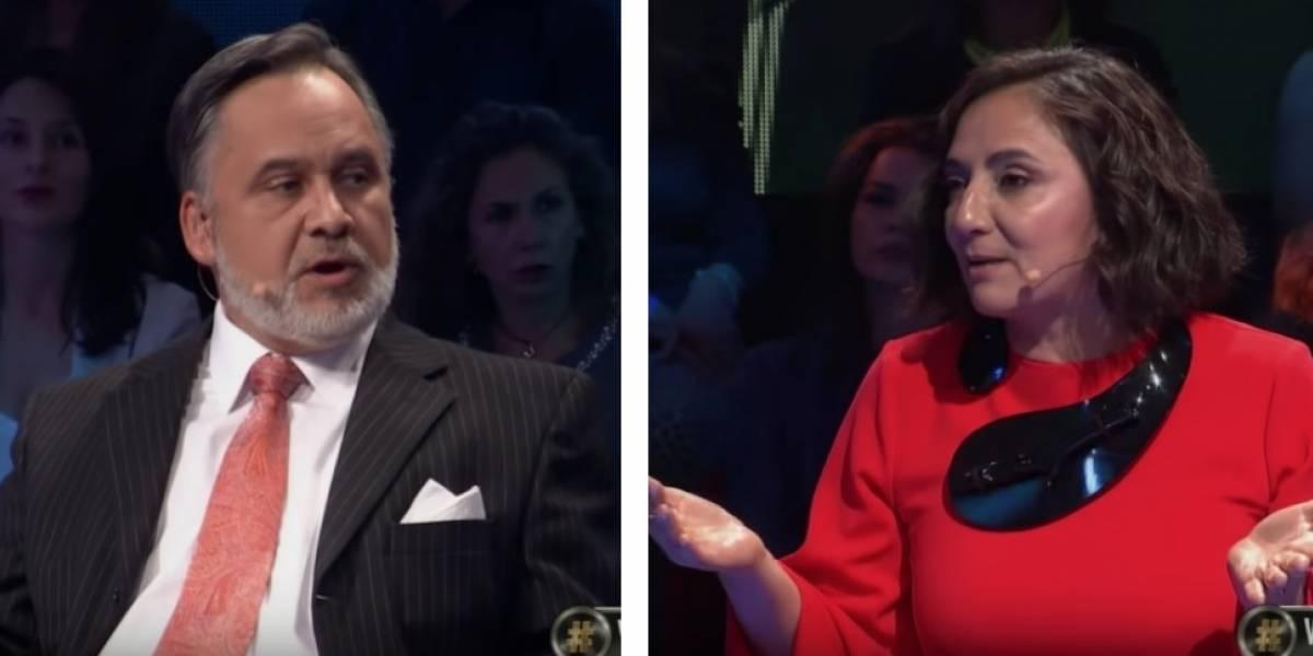 """""""No puedes estigmatizar a un pueblo"""": Las palabras de Ximena Rivas a Aldo Duque en tensa discusión por el tema de la inmigración"""