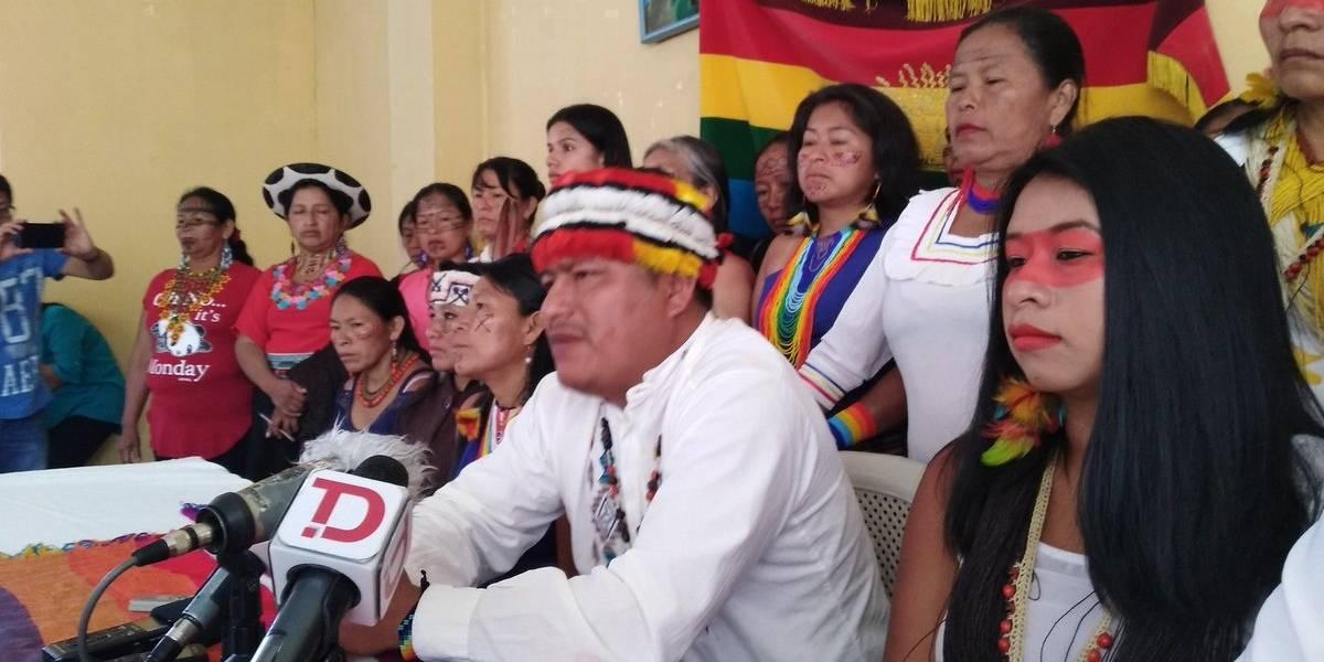 Indígenas están preocupados por acciones que tomará Ecuador en frontera