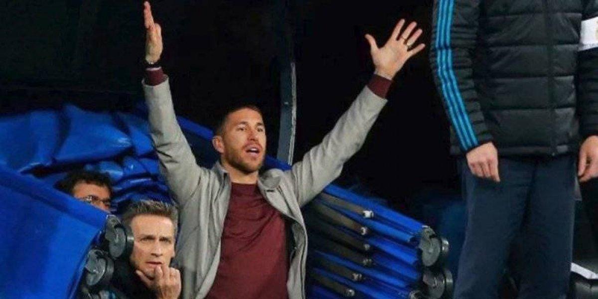 UEFA descarta sanción a Sergio Ramos