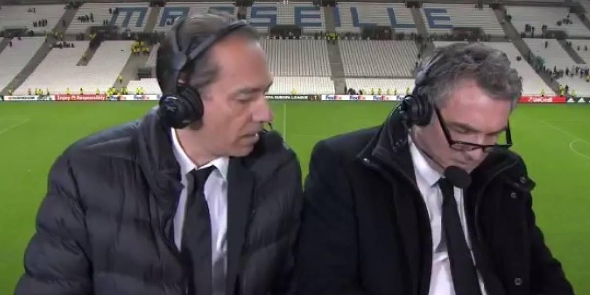 VIDEO: Comentarista es suspendido por llamar a jugadores 'maricones y estúpidos'