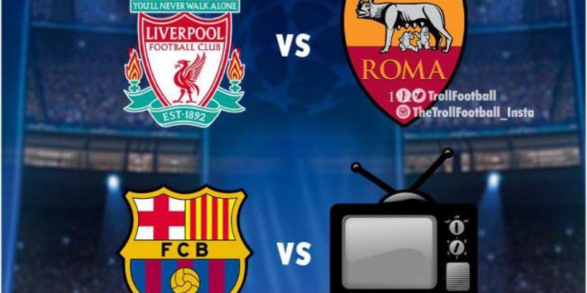 MEMES: Así se burlan del sorteo que definió las semifinales de Champions League