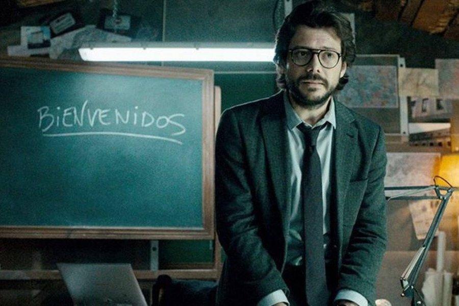 63683a9a6  O Professor  comenta como seria uma terceira temporada da La Casa de Papel