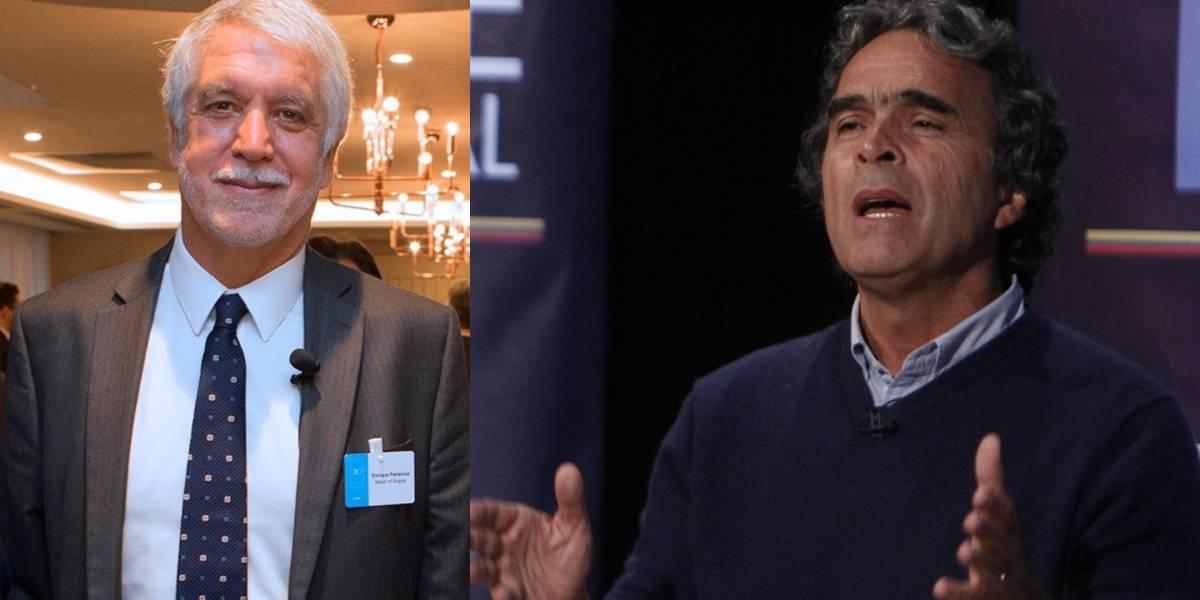 Fuerte vainazo de Sergio Fajardo contra Enrique Peñalosa