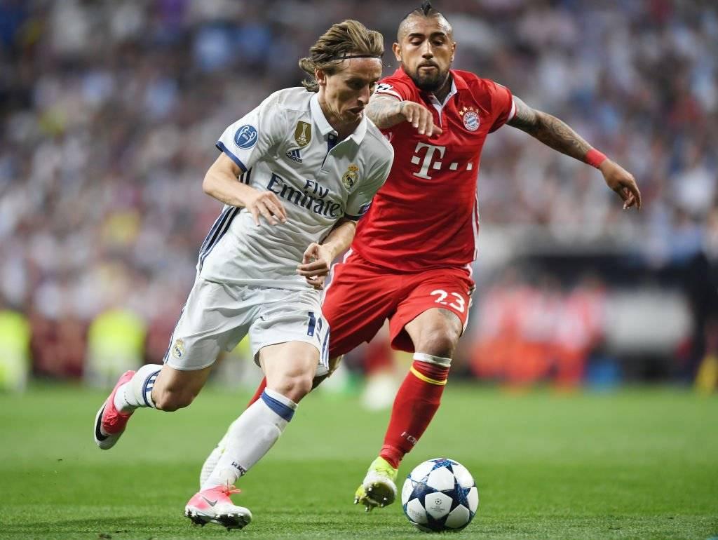 Arturo volverá a enfrentar al Real Madrid por la Champions / Getty