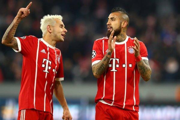 Vidal buscará la final de la Champions con el Bayern / imagen: Getty Images
