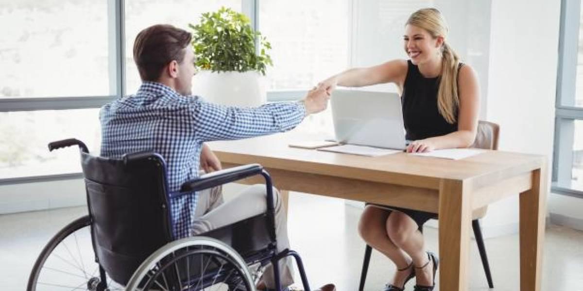 Cerca de 6 mil personas con discapacidad buscan trabajo en la Bolsa Nacional de Empleo