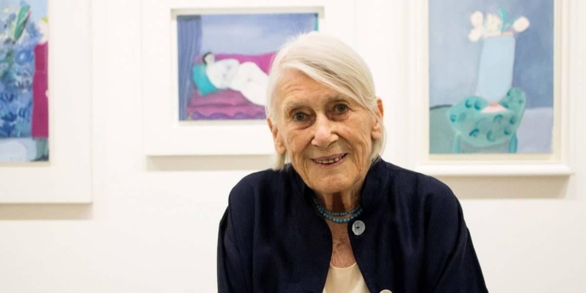 Fallece la pintora y escultora Joy Laville a los 94 años