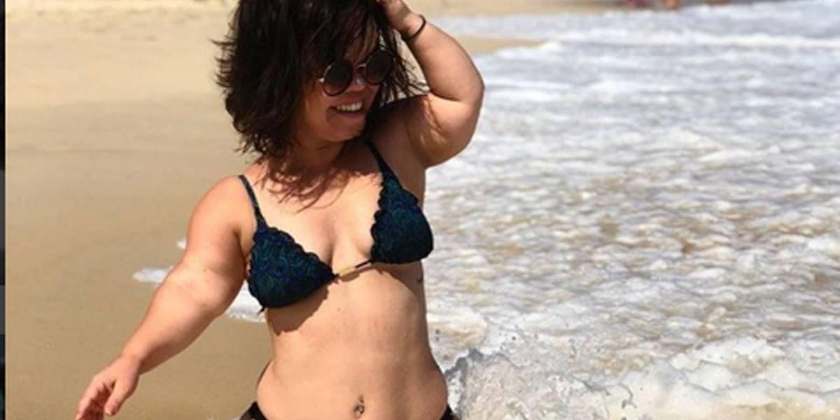 Atriz anã Juliana Caldas posa completamente nua  confira o clique ... 1c05541adb