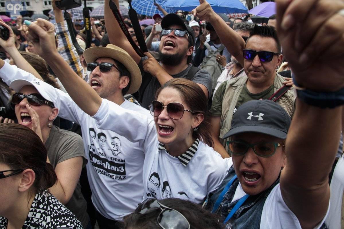 Se confirma el asesinato del equipo Periodístico de El Comercio API