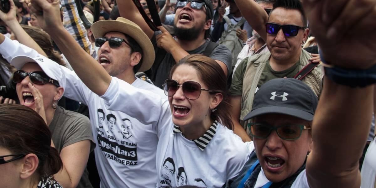 Así reaccionaron en redes por el asesinato del equipo periodístico de El Comercio