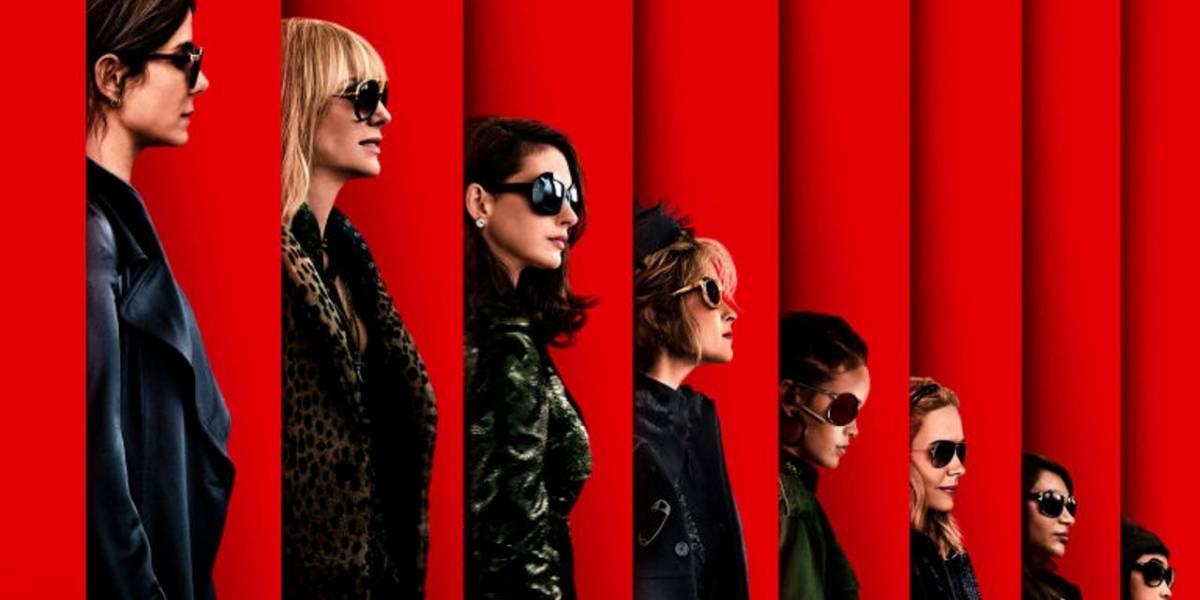 Oito Mulheres e um Segredo: trailer mostra Sandra Bullock e amigas planejando roubo