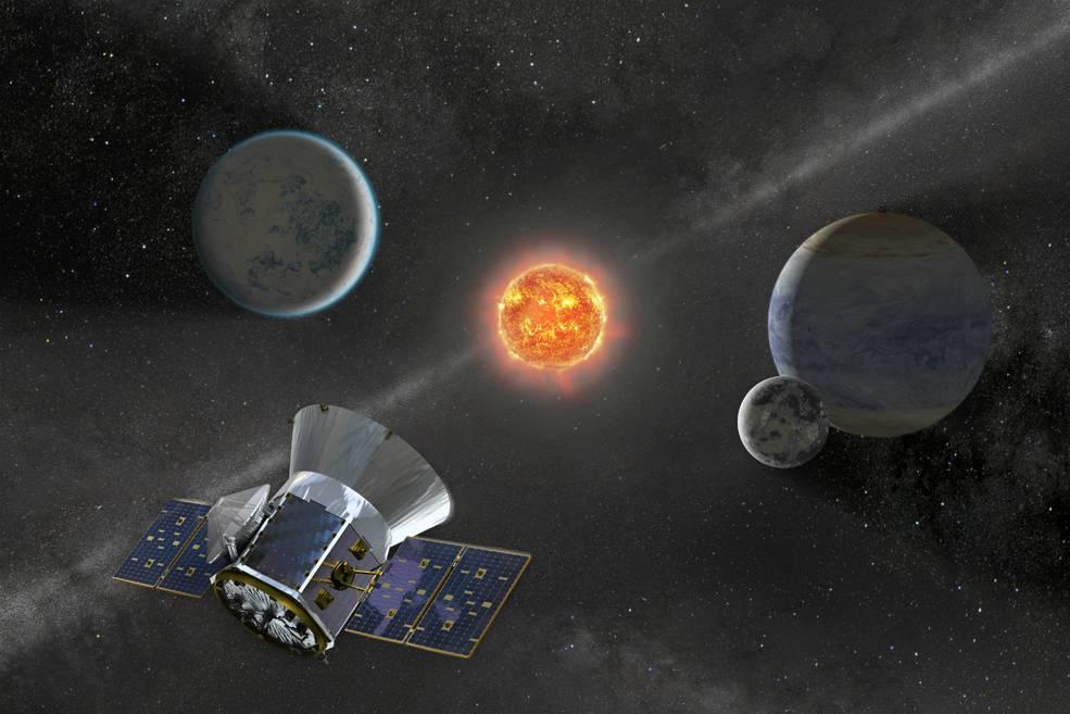 Observa el lanzamiento del satélite TESS de la NASA el 16 de abril