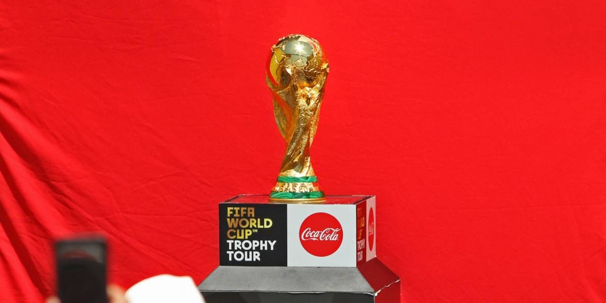 El trofeo del Mundial ya está disponible para los aficionados en CDMX