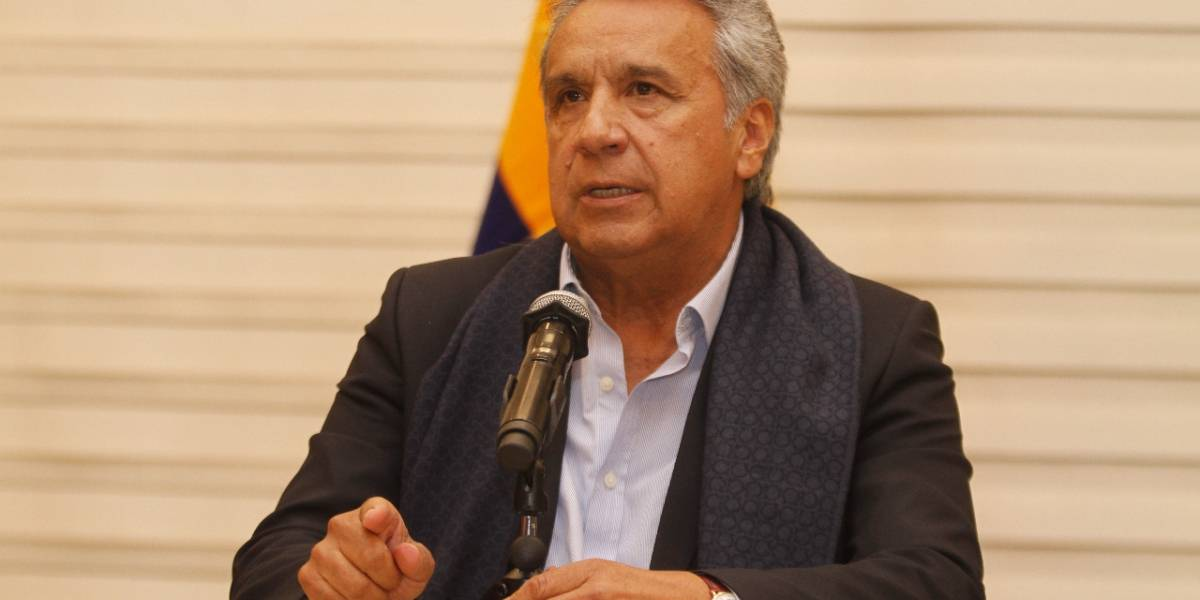 Lenín Moreno se pronuncia al terminar plazo de 12 horas dado a secuestradores
